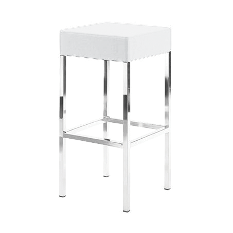 White Exhibition Stool Hire