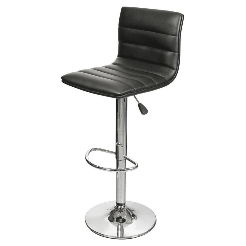 Black Leather Bar Stool Hire