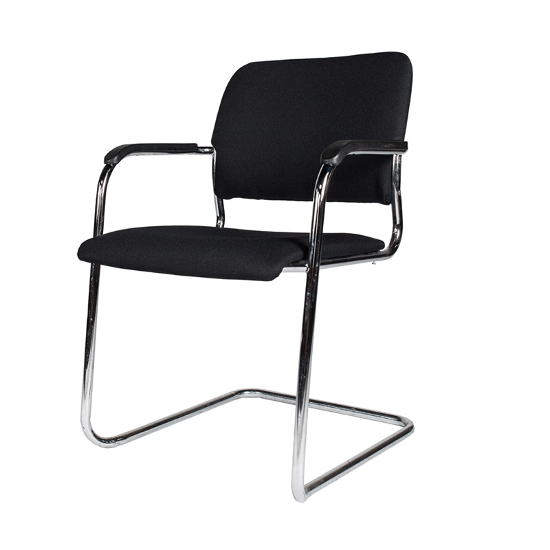 Black Meeting Chair
