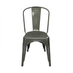 Gunmetal Toledo Chair