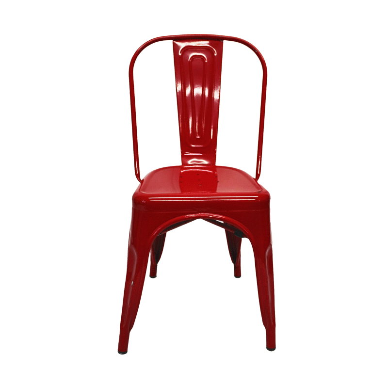 Red Toledo Chair