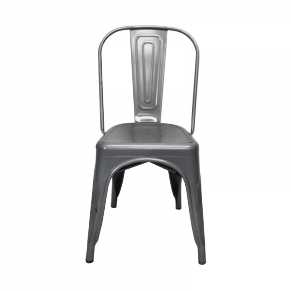 Silver Toledo Chair