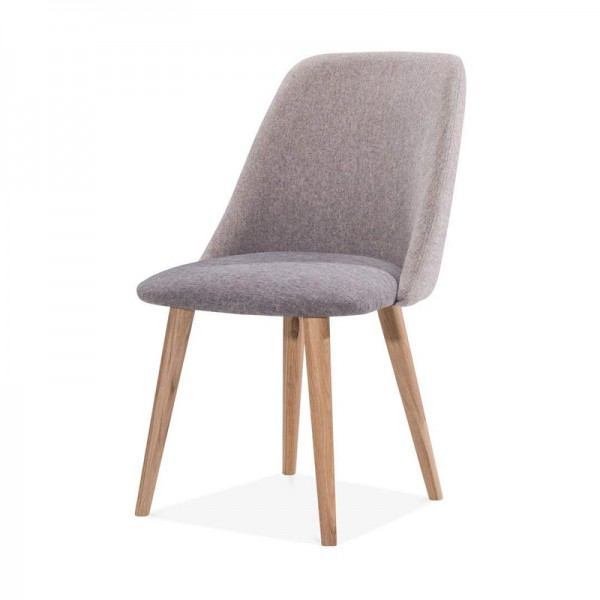 Oslo Grey Fabric Chair