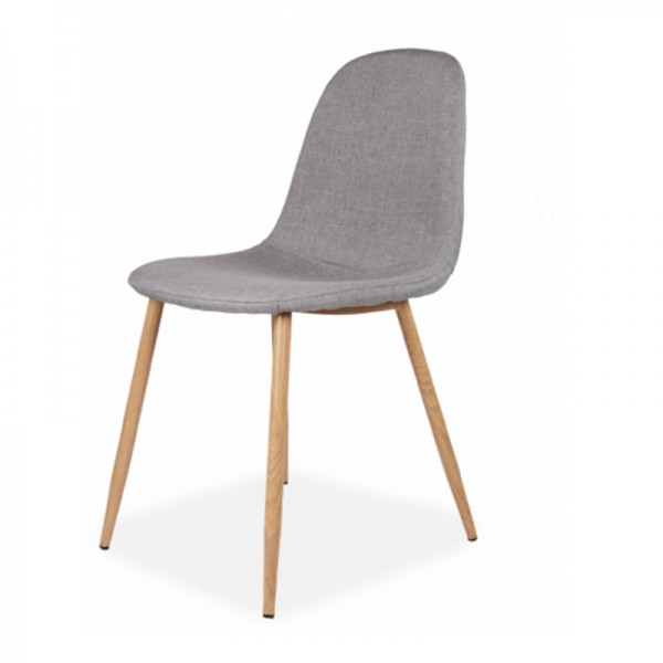 Oslo Grey Fabric Chair