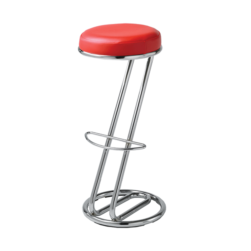 Red Z Stool