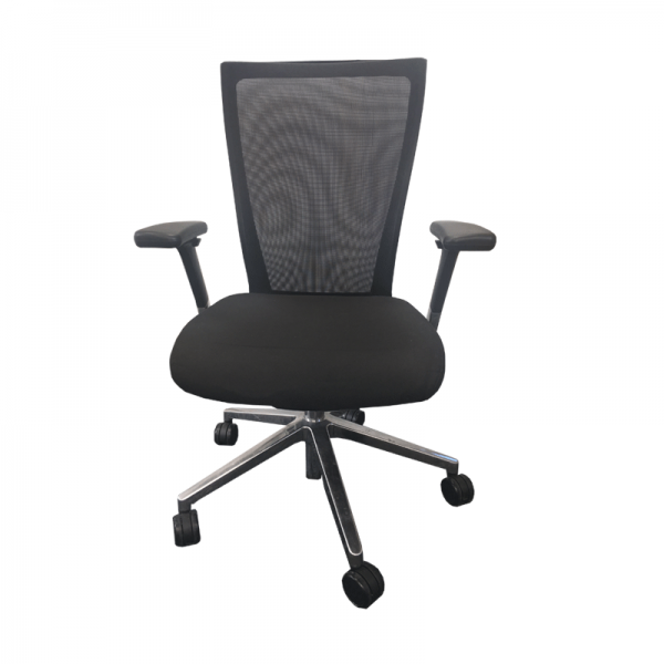Straight Back Mesh Operator Chair