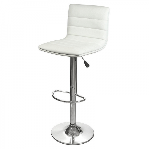 Ribble Bar Stool White
