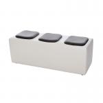 White Modular Seat