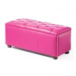 Pink Chesterfield Style Modular Seat