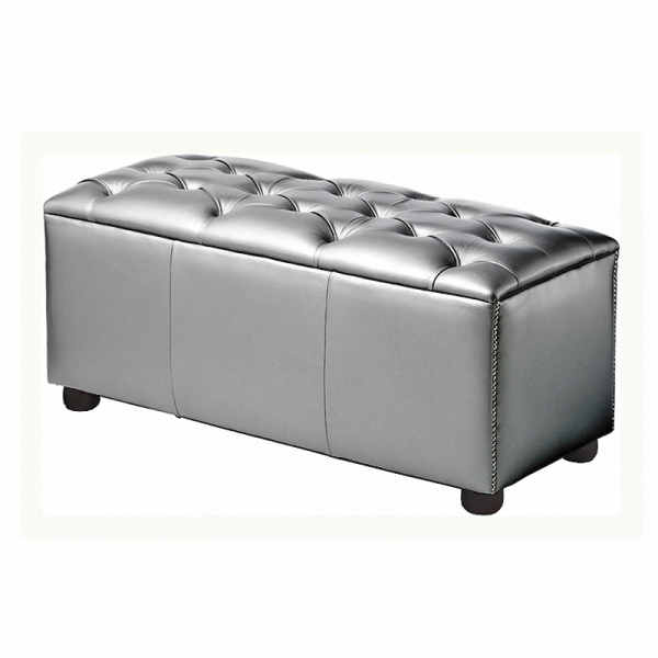 Silver Chesterfield Style Modular Seat