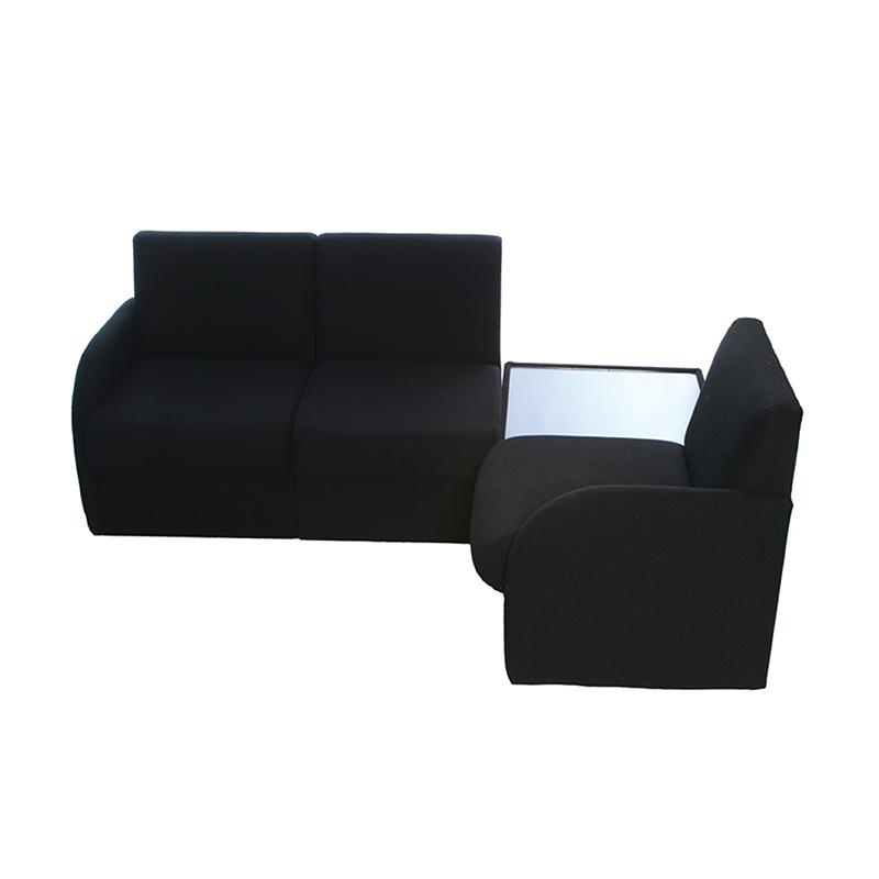 Black Modular Reception Seating