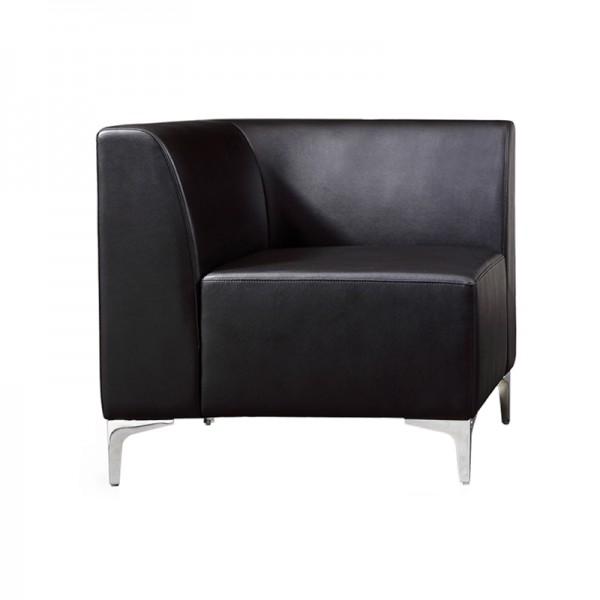 Leather Modular Reception Sofa Corner
