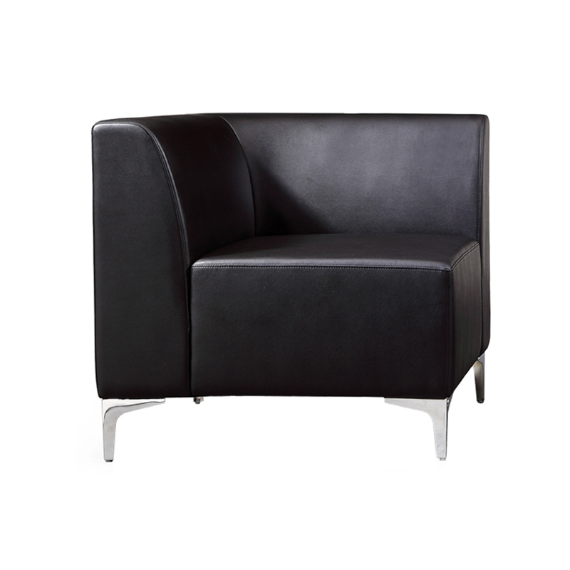 Leather Modular Reception Sofa - Corner