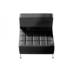 Leather Modular Reception Seating - Centre Section