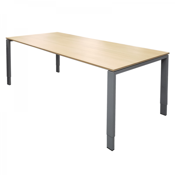 1600 Light Oak Meeting Table
