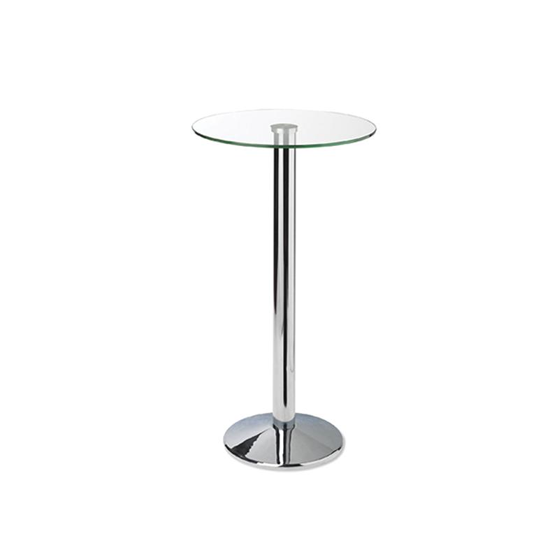 Glass Poseur Table