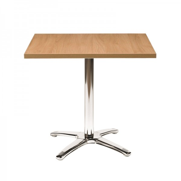 Oak Square Top Bistro Table