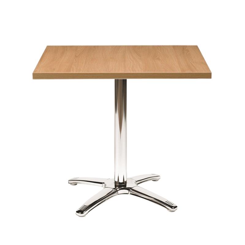 Oak Square Top Bistro Table