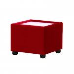 Red Velvet Coffee Table