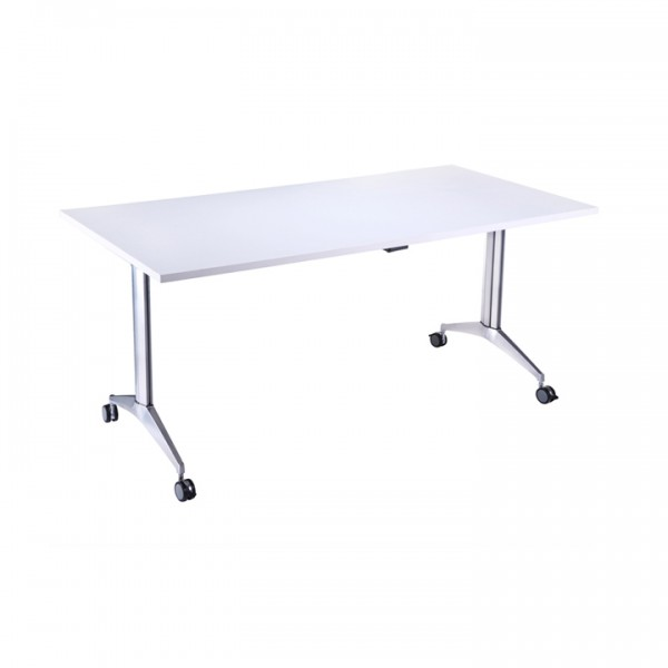 White Flip Top Table