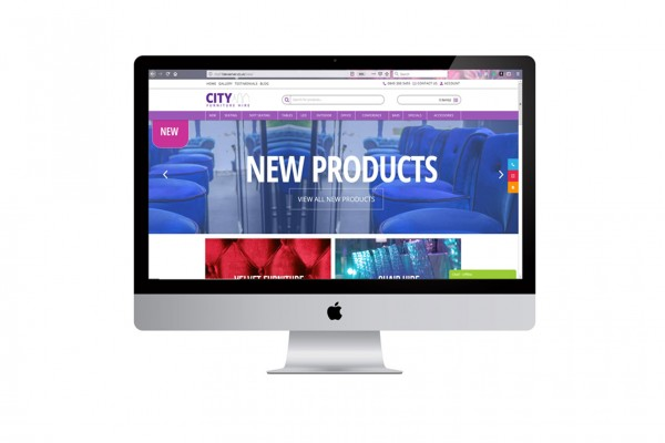 City Furniture Hire Unveil Their Brand New Website!